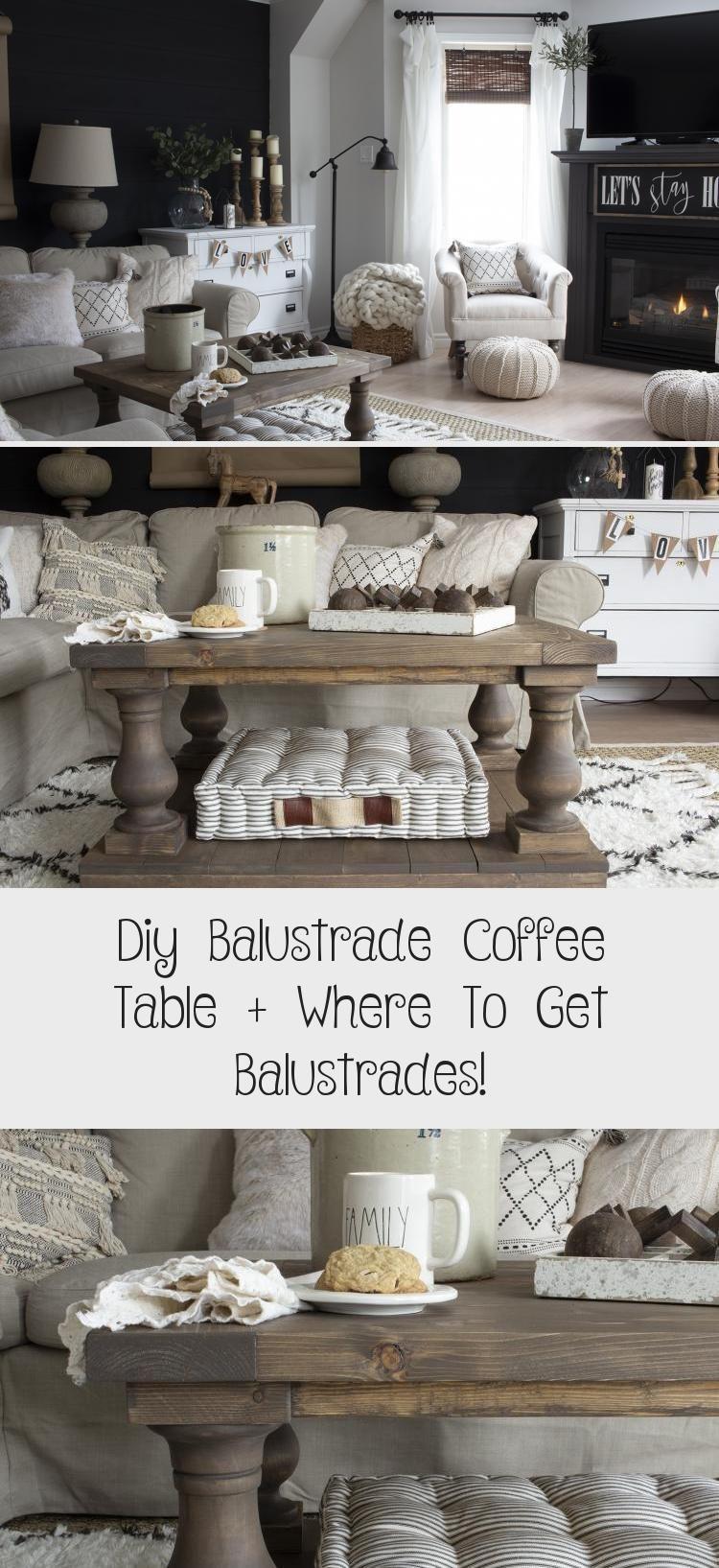 Diy Balustrade Coffee Table Where To Get Balustrades Coffee