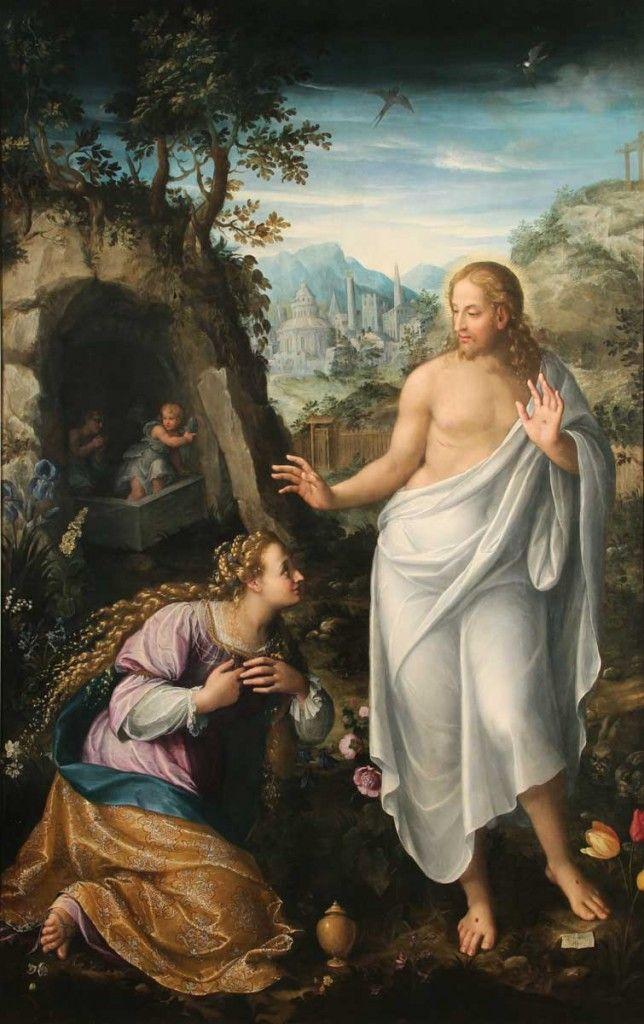 Noli Me Tangere Fede Galizia Noli Me Tangere Female Artists Mary Magdalene
