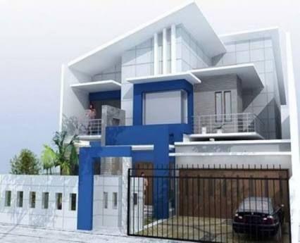 70 Desain Warna Rumah Minimalis Dan Klasik Desain Depan Rumah Lantai Berwarna Rumah Minimalis
