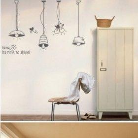 Licht dekorative Wand-Aufkleber