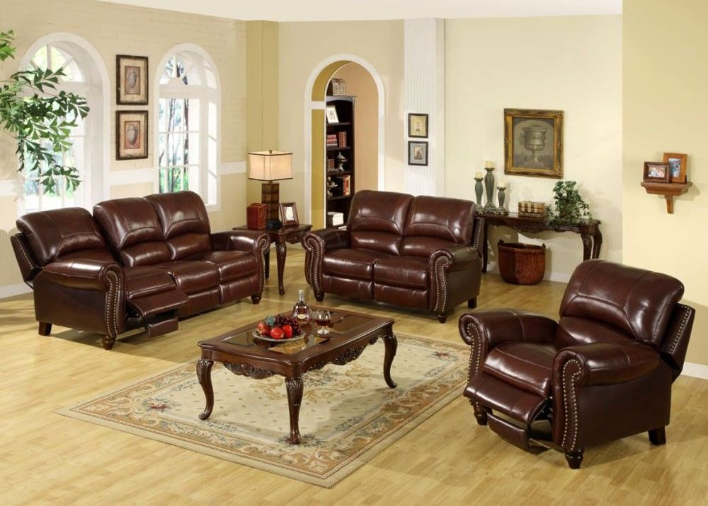 How to Take Care Leather Living Room Furniture Good