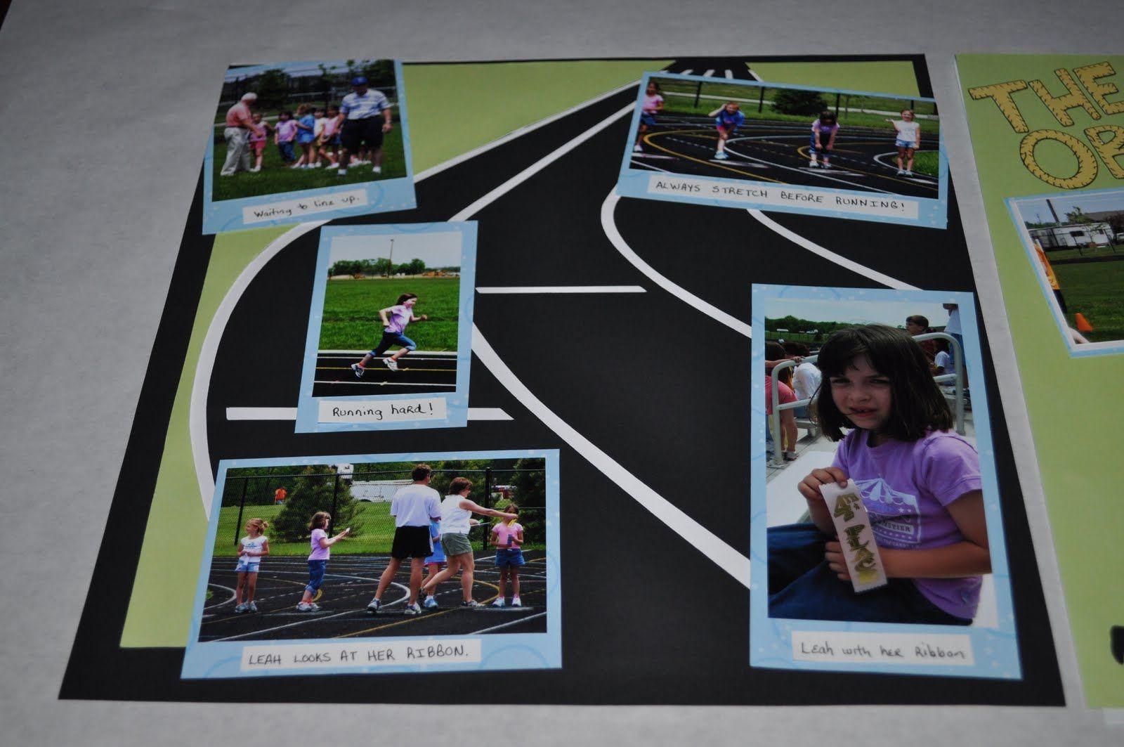Running scrapbook ideas - 17 B Sta Bilder Om Track Field Scrapbook P Pinterest Sp R Scrapbooksidor Och Urklippsbok