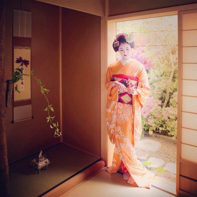 Maiko Henshin Shiki Geisha Artwork Japanese Geisha Geisha