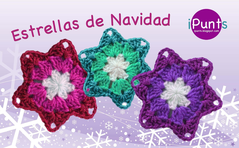 Tutorial: Estrella de Navidad a crochet | Crochet | Pinterest ...