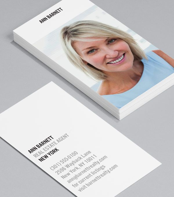 New View Luxe Business Cards Realtor Business Cards Business Card Design