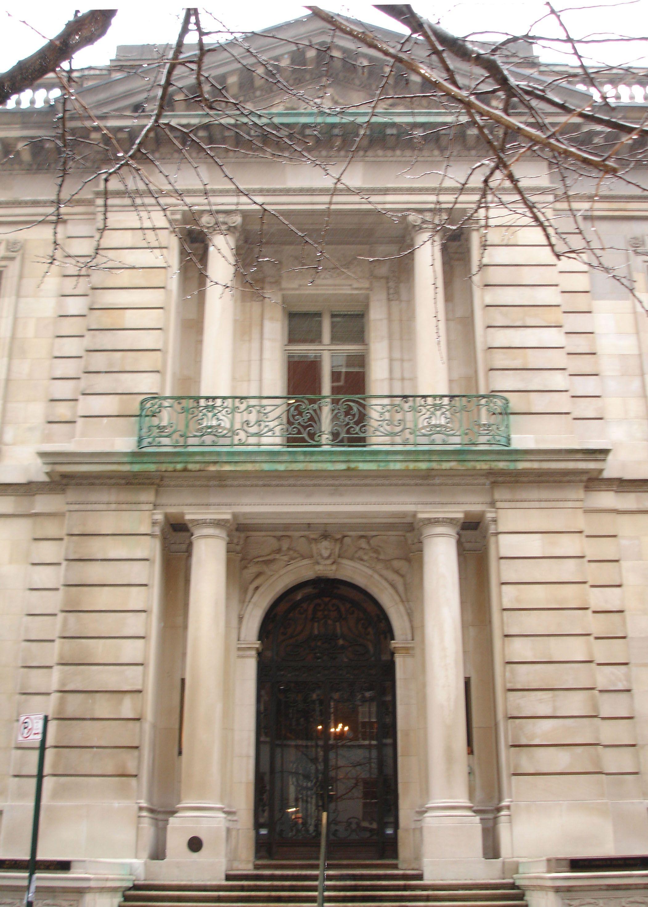 Duke Mansion Front Door Fifth Avenue Mansions American Architecture Scenic Design