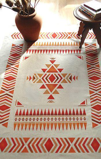 Tendencias en decoración 2015 (1) Diseños aztecas, Lana y Marruecos