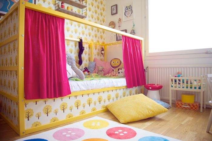 Ikea Etagenbett Vorhang : ρετρό διακόσμηση στο παιδικό δωμάτιο kids toys pinterest