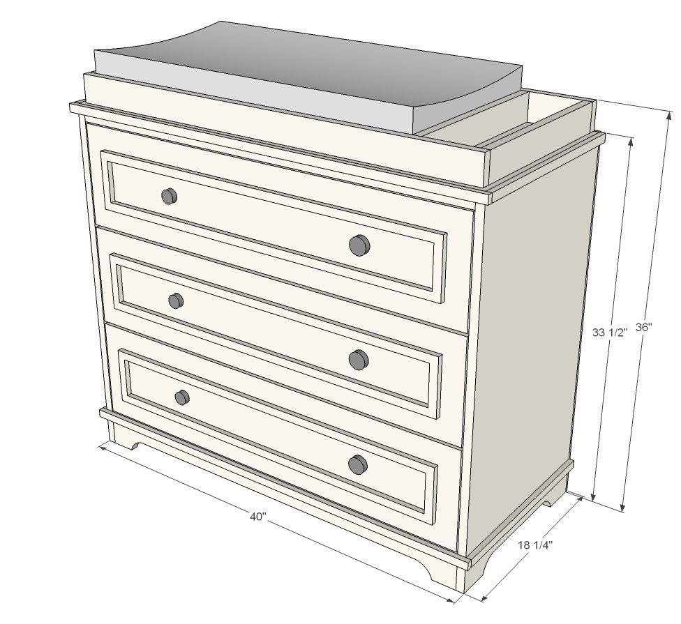Fillman Dresser Or Changing Table Baby Changing Tables
