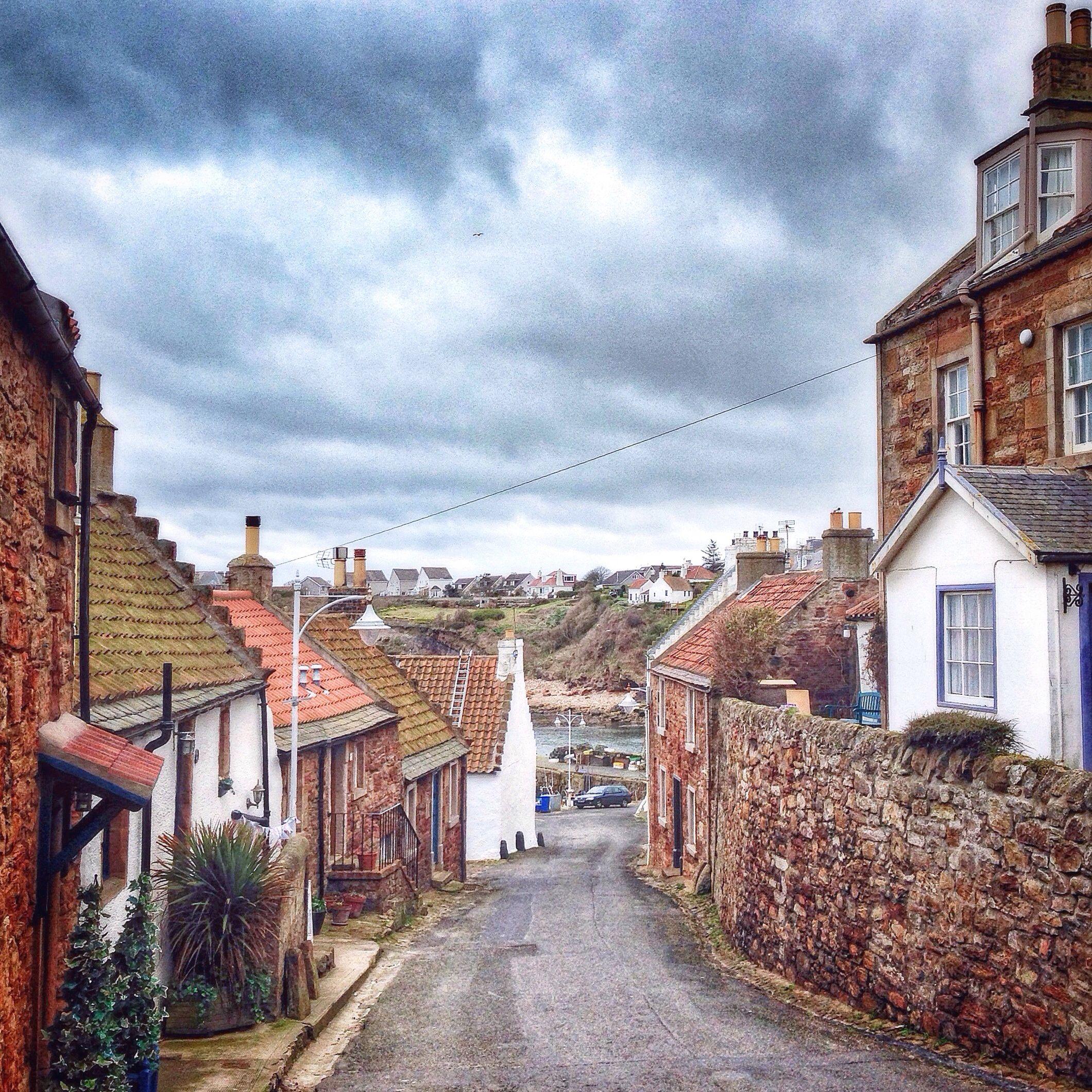 Crail Fife Scotland A Beautiful Charming Fishing Village On The East Coast Scotland