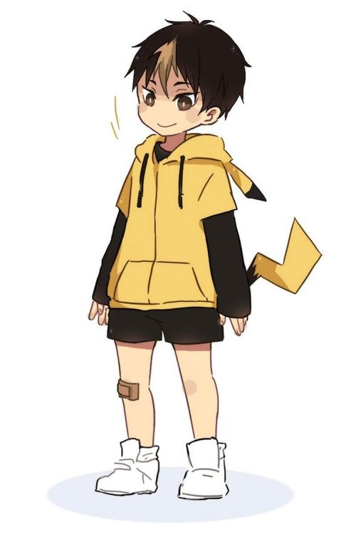 - Nishinoya Yuu ver Pikachu on We Heart It