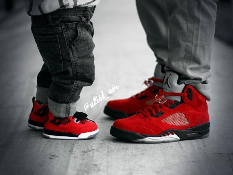 Like Father, Like Son Jordans | Bebe