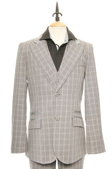 English Laundry Scott Weiland Everlong Blazer In Charcoal