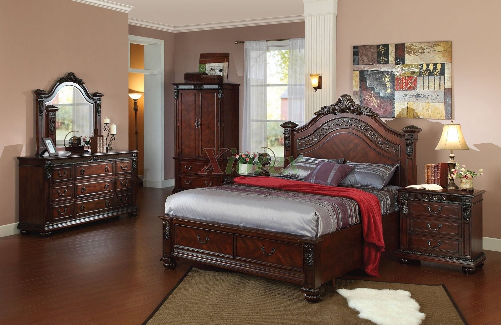 Elegant Queen Bedroom Furniture Sets