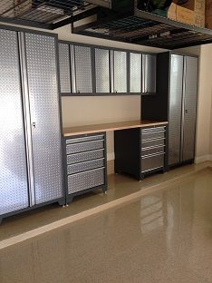 Captivating NewAge Pro Series Garage Cabinets