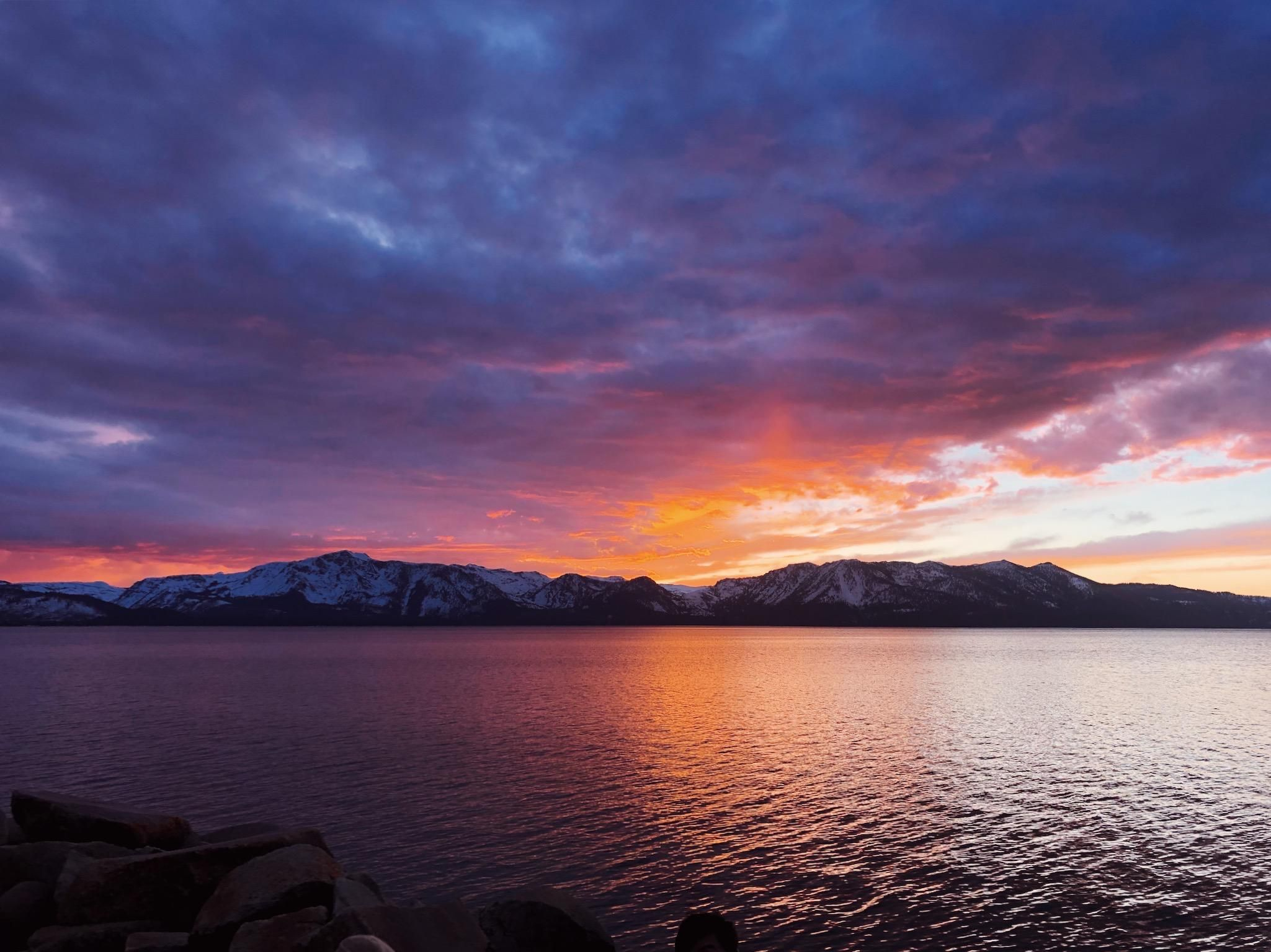 Gorgeous Sunset Last Night In Lake Tahoe California Oc 2049 X 1536 Music Indieartist Chicago In 2020 Lake Tahoe California Gorgeous Sunset Lake Tahoe