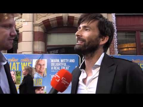 VIDEO: David Tennant Talks To London Live On The Red Carpet