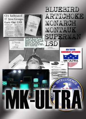 MK-ULTRA DECLASSIFIED - CIA artichoke bluebird LSD 2 DVD-ROM boxed