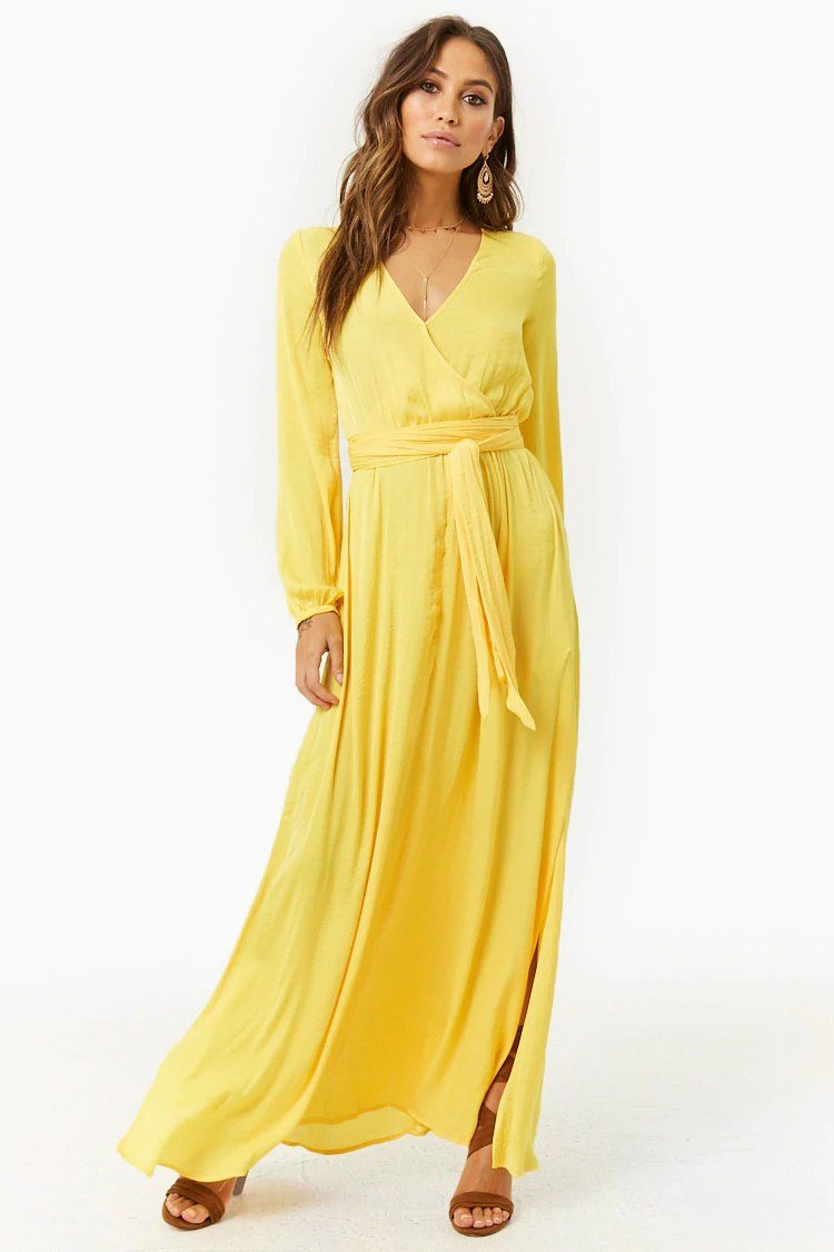 2b7f9a7b657 Product Name Belted Surplice Maxi Dress