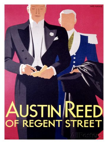 Austin Reed Giclee Print Tom Purvis Allposters Com Austin Reed Vintage Austin Vintage Advertising Posters