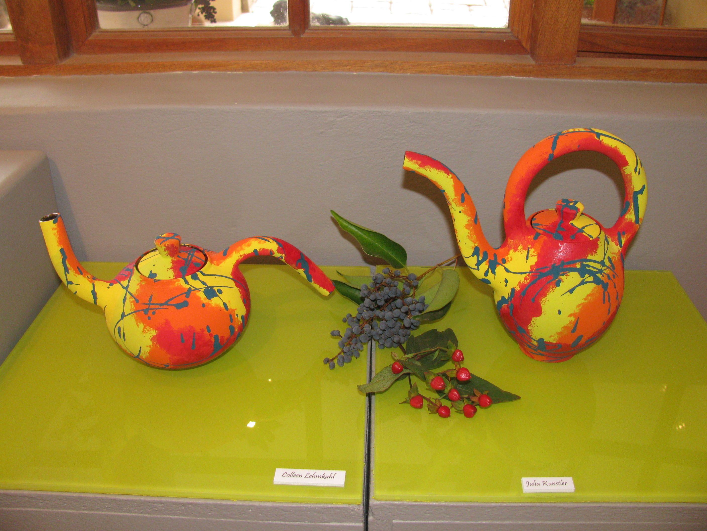 Colleen Lehmkuhl - Small Wild Teapots