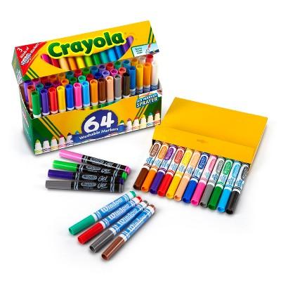 Crayola Broadline Markers 64ct Washable Papeleria Escuela