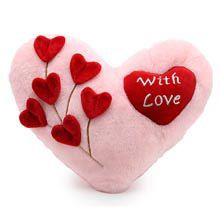 A Good Gift For Fiance Male With Love Cushion