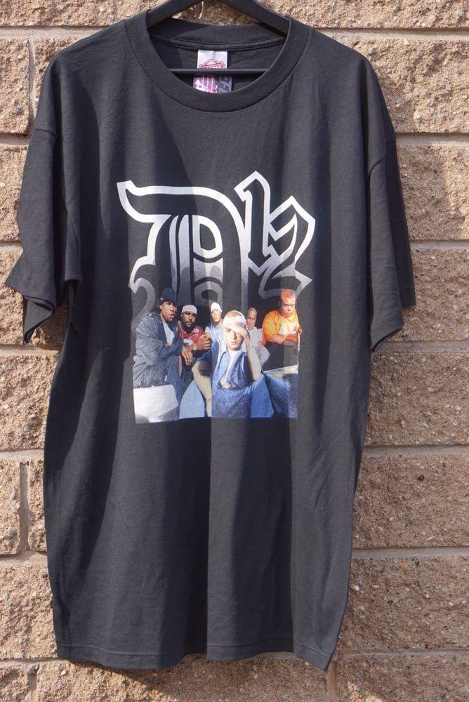 6a51744ac Vintage 2001 D12 Eminem Hip Hop Shirt