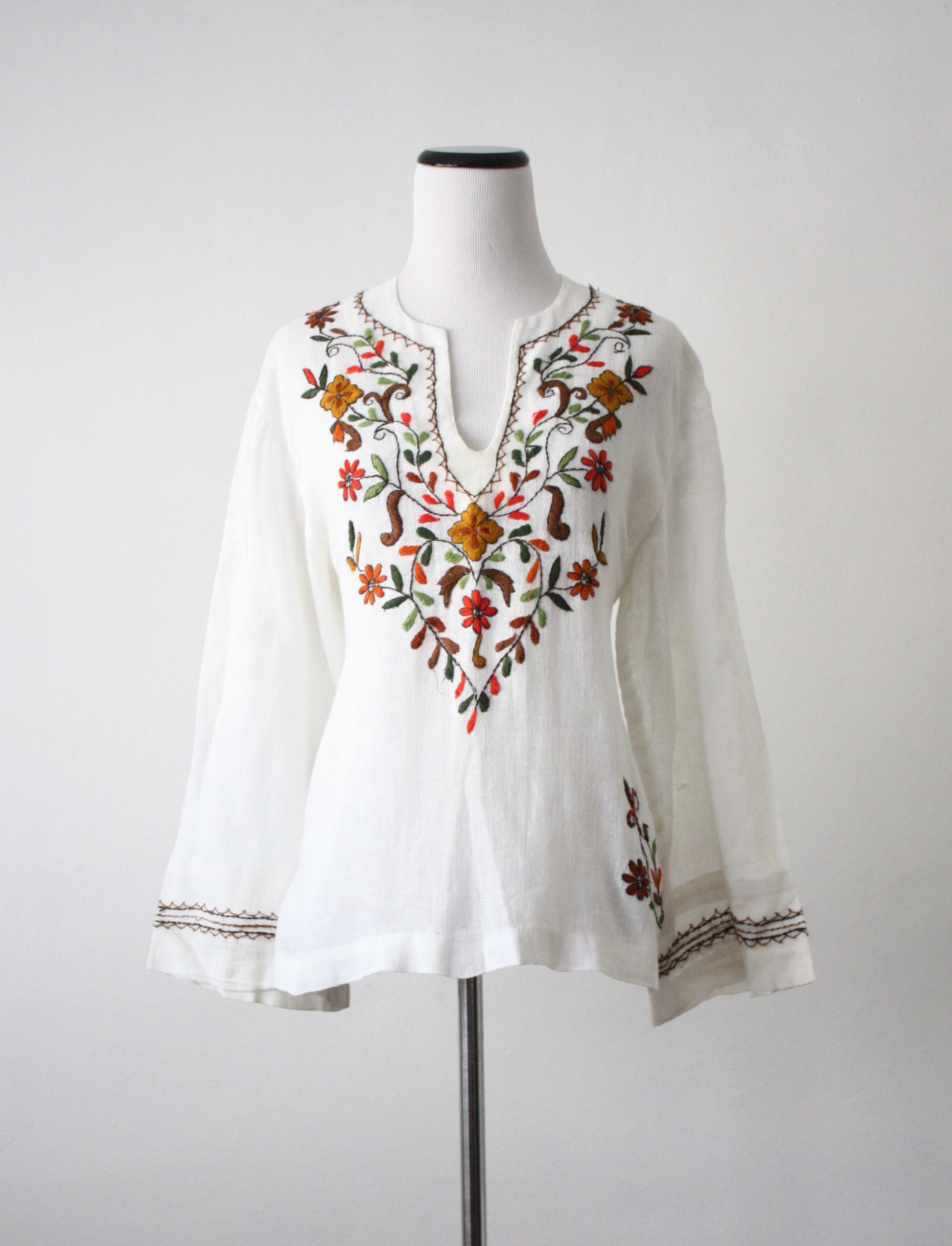 Mexican Peasant Blouse Tutorial Anlis