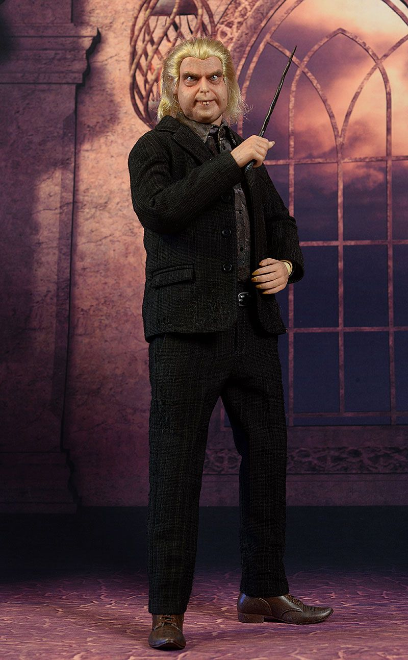 Peter Pettigrew Wormtail Harry Potter Sixth Scale Action Figure Review Peter Pettigrew Ron And Harry Harry Potter