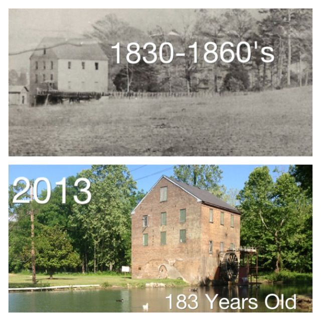 The Historic Lindale Grist Mill In Lindale Ga This Historic Mill