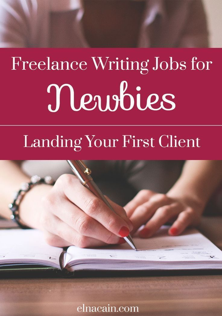Freelance Writing Jobs for Newbies Landing Your First