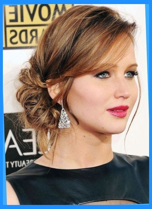 50 Best Updos For Medium Hair Herinterest In Semi Formal Hairstyles For Mediu Mother Of The Bride Hair Updos For Medium Length Hair Medium Length Hair Styles