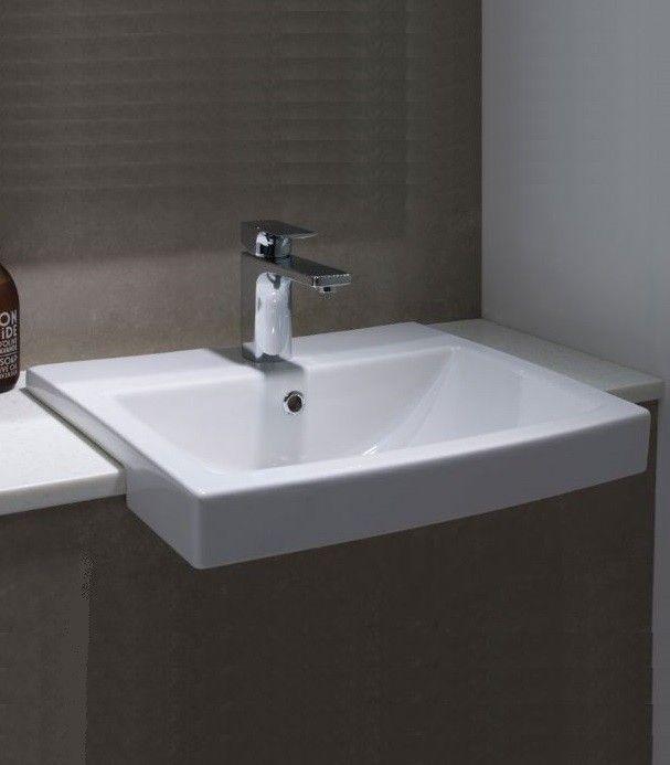 Tavistock Vibe Semi Recessed Basin Semi Recessed Basin Countertops Diy Countertops