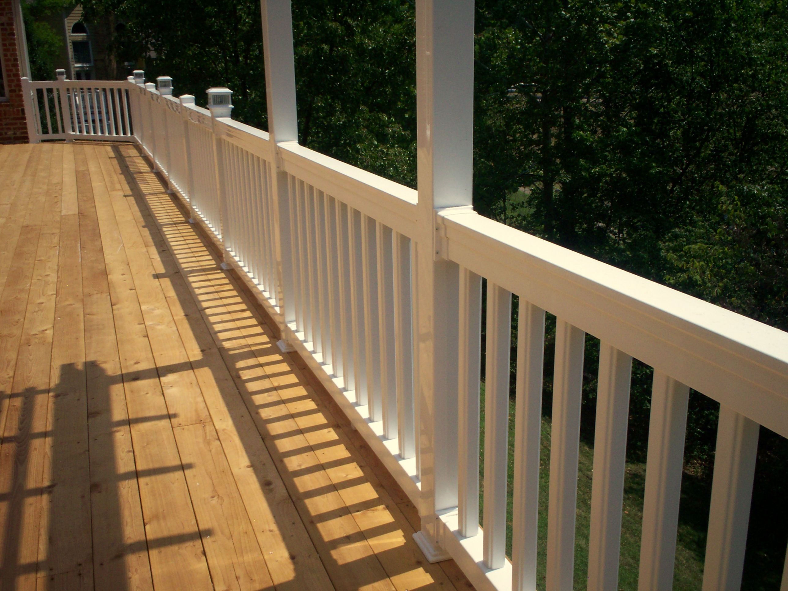 How to build custom deck railings decking deck railings and how to build custom deck railings baanklon Gallery