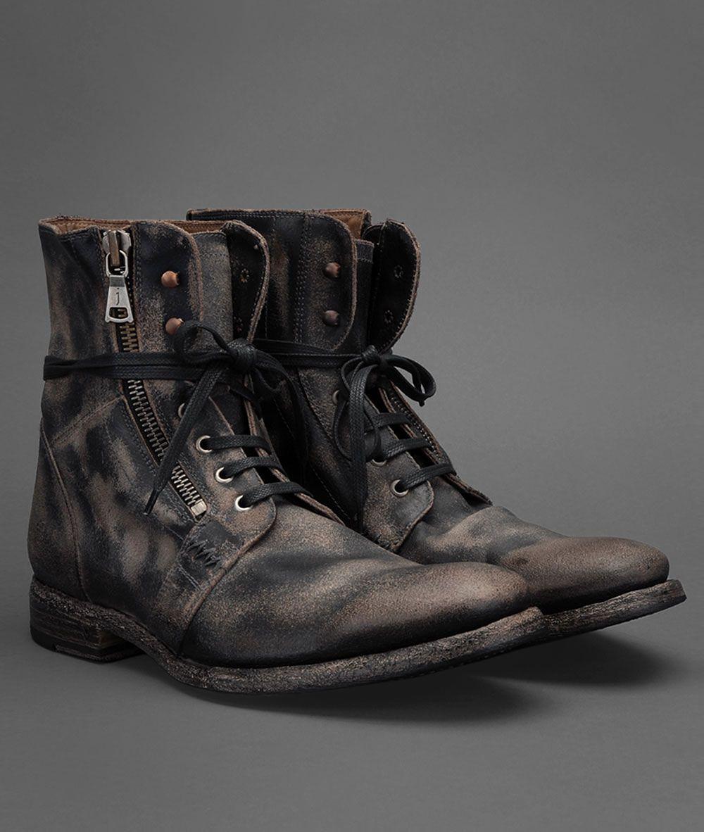 Ago Side Zip Boot | John Varvatos Official Site: Shop Online