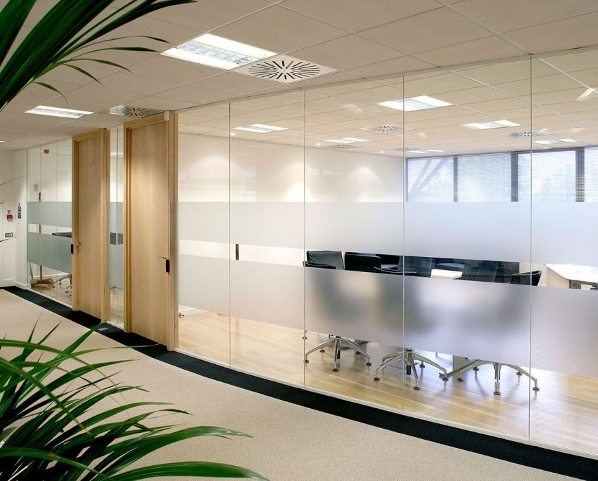 Solare Single Glazed Glass Partition In 2019 Lrh Entry