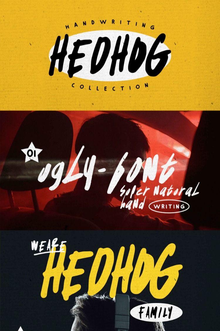 Free Demo Hedhog Handwritten Font In 2020 Free Playbill