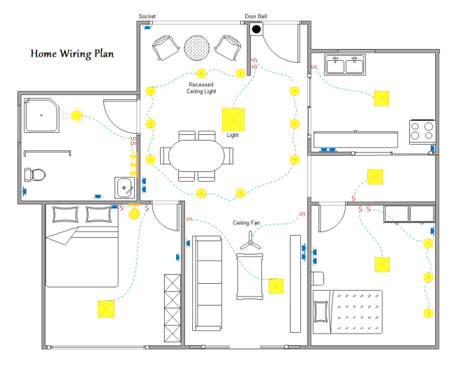 an electrical rewire is one of the most disruptive jobs that can be rh pinterest com Safety Floor Plan Doors Floor Plan
