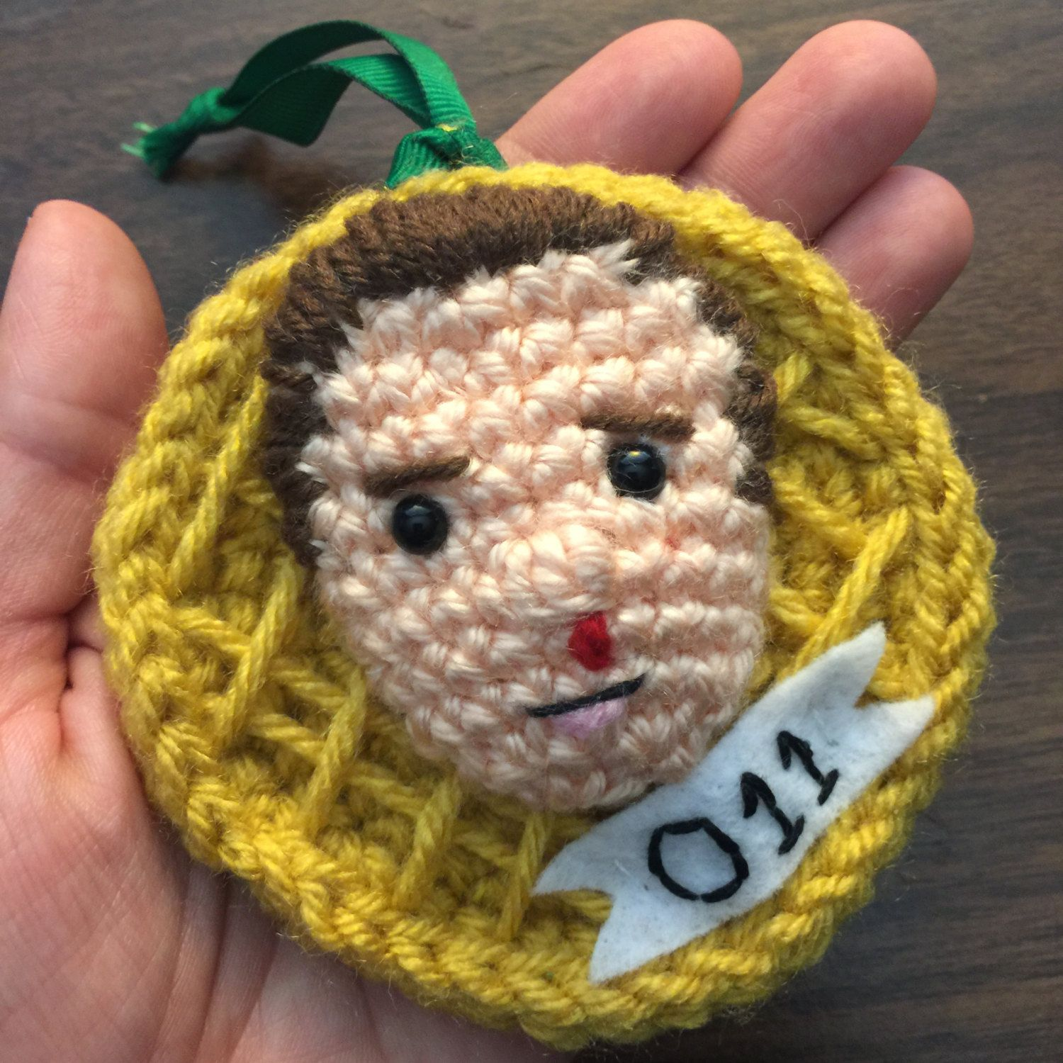 Stranger things eleven waffle crochet pattern christmas ornament stranger things eleven waffle crochet pattern christmas ornament keychain pursehandbag charm by craftyiscoolcrochet on bankloansurffo Image collections