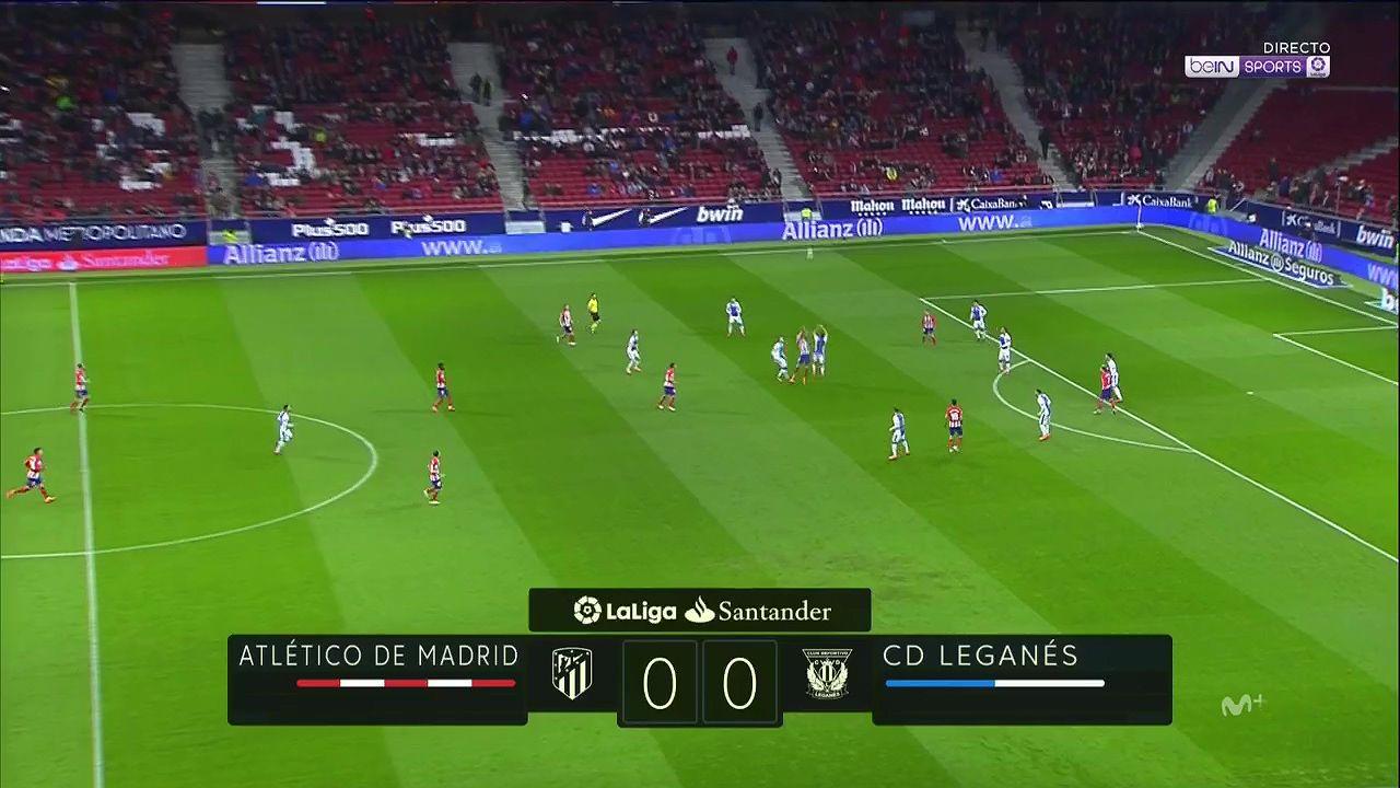 Pin on goals La Liga 17/18 J26 Atletico Madrid vs