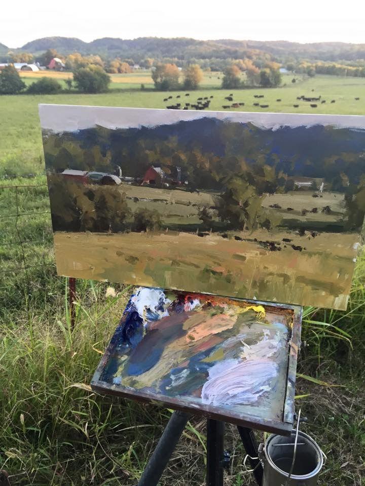 Jason A. Saunders http://www.saundersfineart.com/landscapes