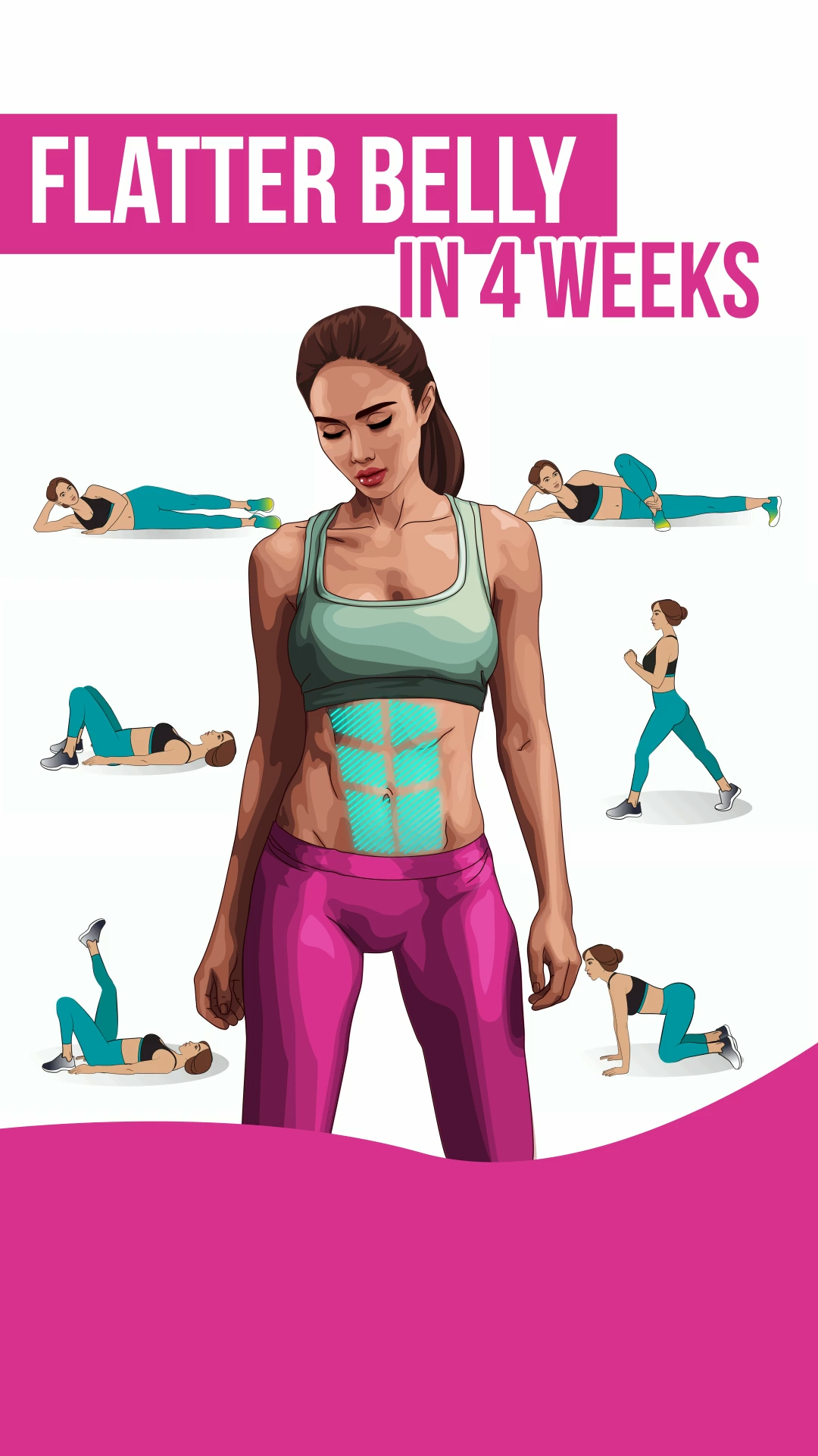 Flatter Belly In 4 Weeks Simple rules for your body to get slimmer Click to download the app on App Store now