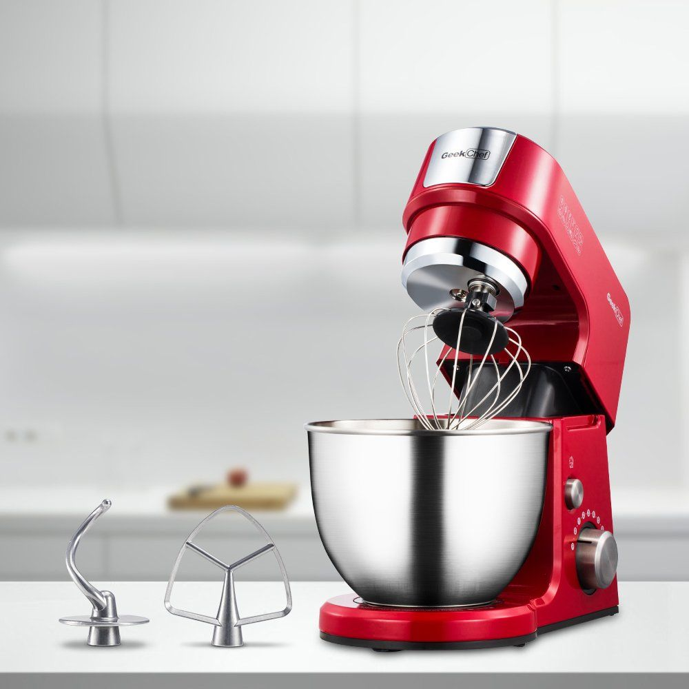 Geek chef mini 4in1 stand mixer multifunction 26 quart