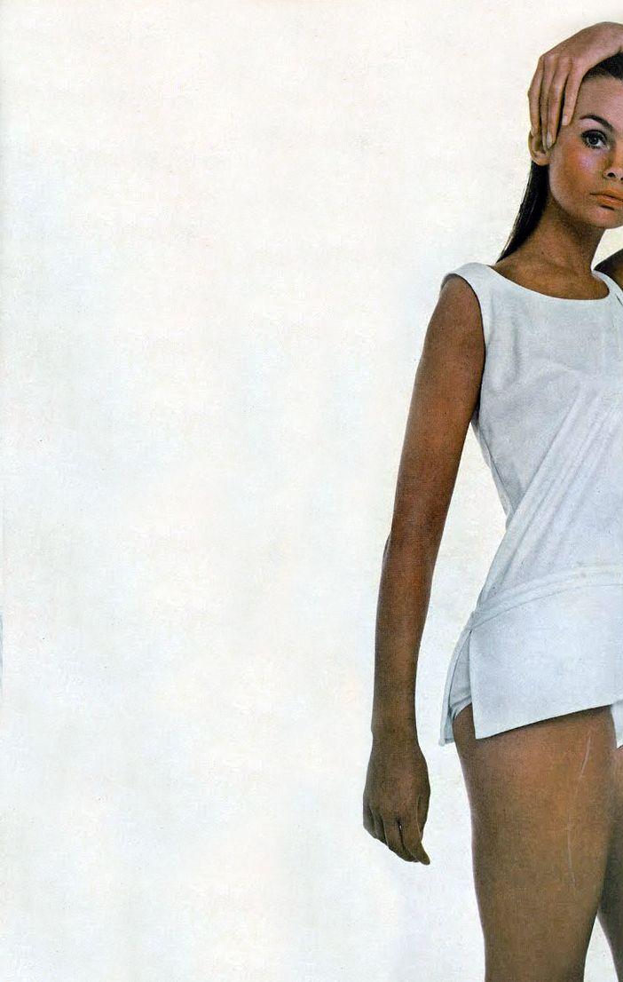 Jean Shrimpton by Avedon. Vogue 1968