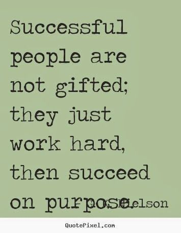Quotes About Being Successful Dedication plays a role in being successful. It allows you to  Quotes About Being Successful