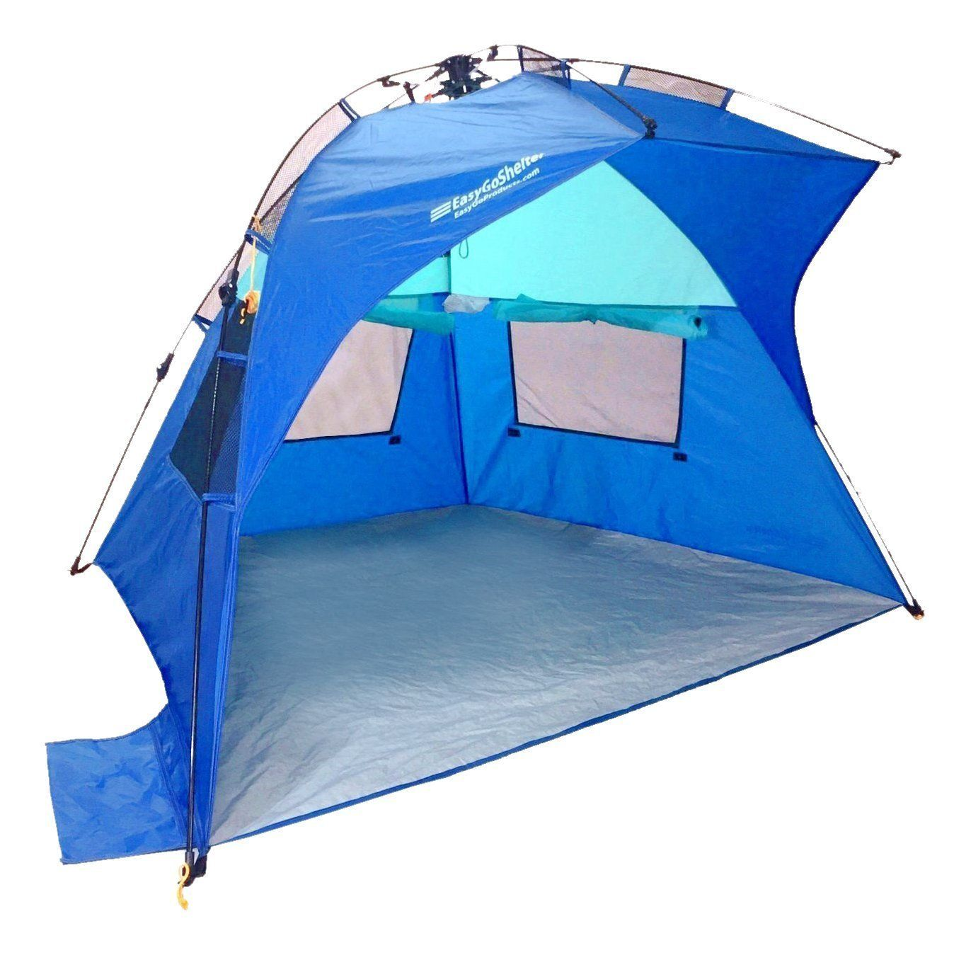 EasyGo Shelter Instant Easy Up Beach Umbrella Tent Sun