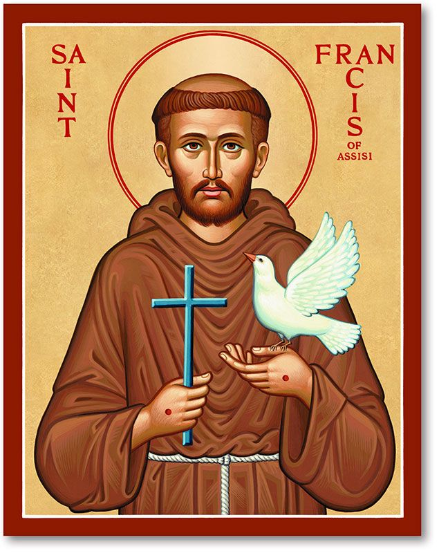 St Francis Icon Pinterest Saint Francis Icons And Peace