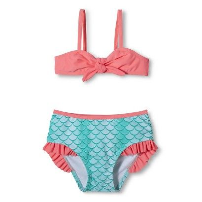 76d0d3835 For the Girls: Toddler Girls' Mermaid Bikini Target $12-14 | being ...