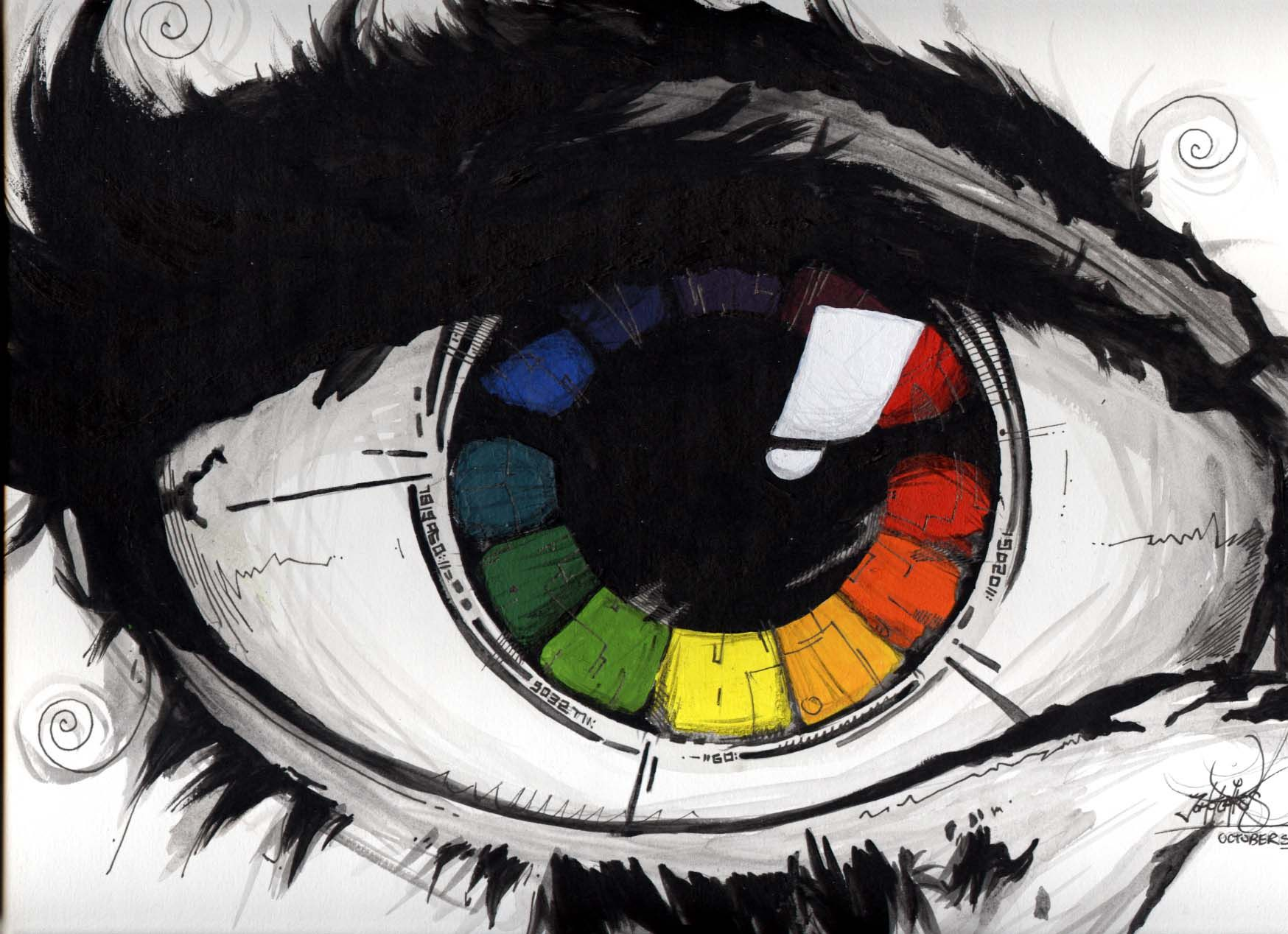 Color Wheel Project D The Color Wheel To Something